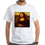 The Mona Lisa da Vinci 1503 White T-Shirt