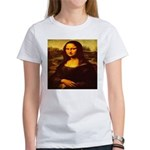 The Mona Lisa da Vinci 1503 Women's T-Shirt