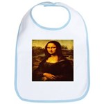 The Mona Lisa da Vinci 1503 Bib