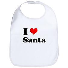 I heart Santa Bib