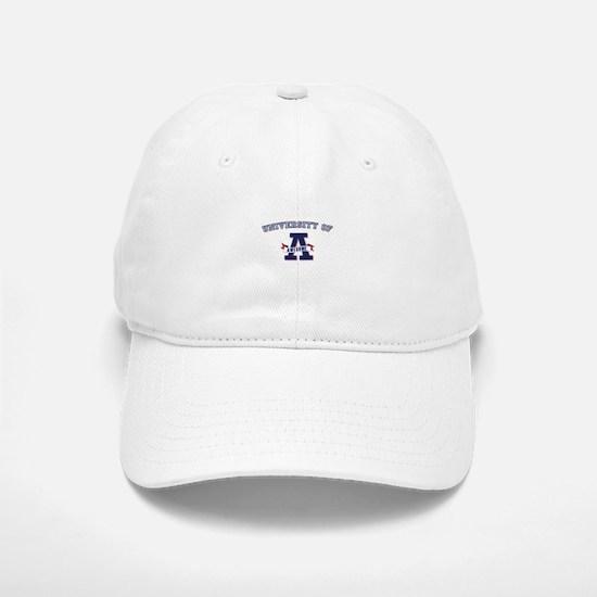 University of Awesome Baseball Baseball Cap