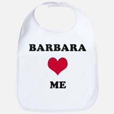 Barbara Loves Me Bib