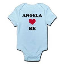 Angela Loves Me Infant Bodysuit