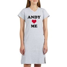Andy Loves Me Women's Nightshirt