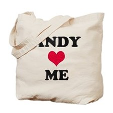 Andy Loves Me Tote Bag