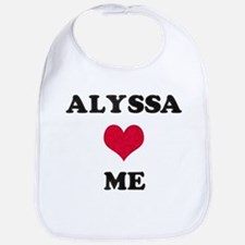 Alyssa Loves Me Bib