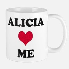 Alicia Loves Me Mug
