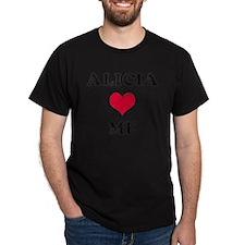 Alicia Loves Me T-Shirt