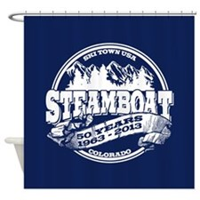 Steamboat Old Circle 50th Shower Curtain