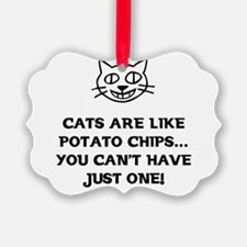 Funny Cat lovers Ornament