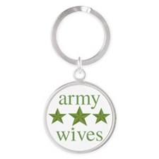 Army Wives Round Keychain