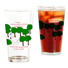 Cute Geocache tupperware Drinking Glass