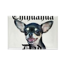 Chihuahua Dad Rectangle Magnet (100 pack)