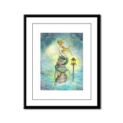 Mermaid Fantasy Art Framed Panel Print