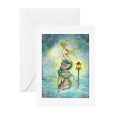 Mermaid Fantasy Art Greeting Card