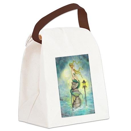 Mermaid Fantasy Art Canvas Lunch Bag