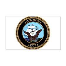 US Navy Logo Car Magnet 20 x 12