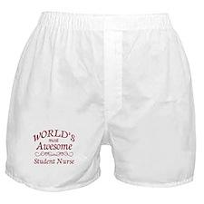 Awesome Student Nurse Boxer Shorts