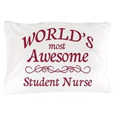 Awesome Student Nurse Pillow Case