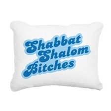 shabbat-01.png Rectangular Canvas Pillow