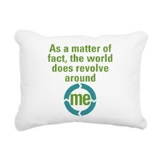 worldrevolve.png Rectangular Canvas Pillow