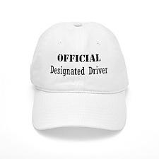 Official Designated Driver Baseball Cap