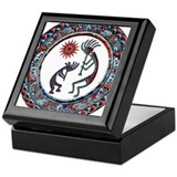 Kokopelli Square Keepsake Boxes