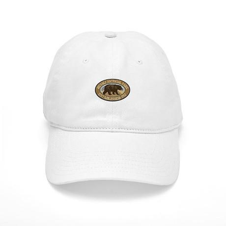 Denali Brown Bear Badge Cap
