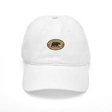 Denali Brown Bear Badge Hat