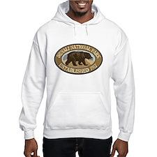 Denali Brown Bear Badge Hoodie