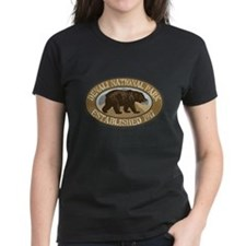 Denali Brown Bear Badge Tee