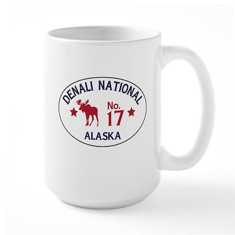 Denali Moose Badge Large Mug
