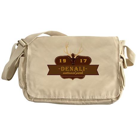 Denali National Park Crest Messenger Bag