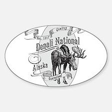Denali Vintage Moose Decal