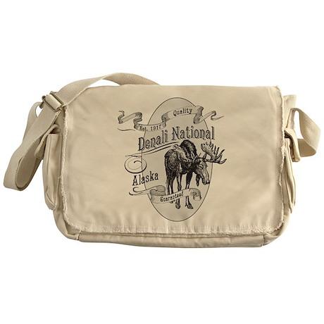 Denali Vintage Moose Messenger Bag