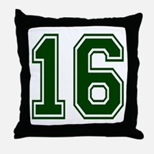 green16.png Throw Pillow