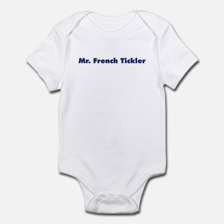 Mr. French Tickler Infant Bodysuit