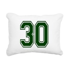 green30.png Rectangular Canvas Pillow