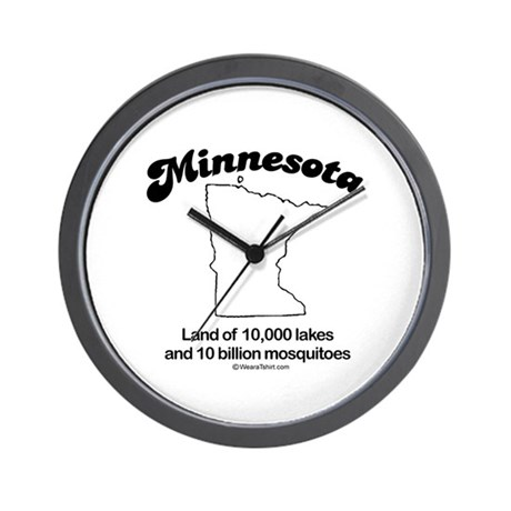 MINNESOTA: 10,000 Lakes, 10 Billion mosquitos Wall
