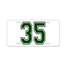 green35.png Aluminum License Plate