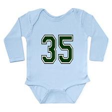 green35.png Long Sleeve Infant Bodysuit