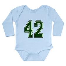 green42.png Long Sleeve Infant Bodysuit