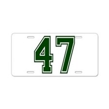 green47.png Aluminum License Plate