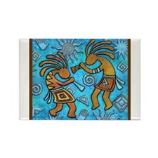 Best Seller Kokopelli Rectangle Magnet