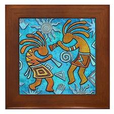 Best Seller Kokopelli Framed Tile