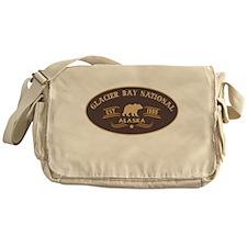 Glacier Bay Belt Buckle Badge Messenger Bag