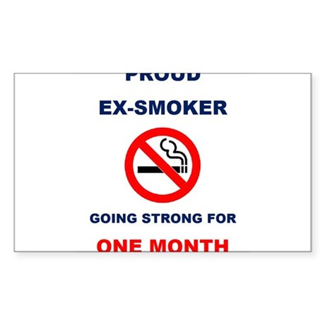 Proud Ex-Smoker – Going Strong For One Month Stick