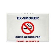 Proud Ex-Smoker – Going Strong For One Month Recta