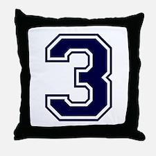 bluea3.png Throw Pillow