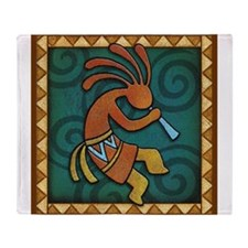 Best Seller Kokopelli Throw Blanket